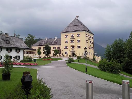 Castle Fuschl at lake Fuschlsee