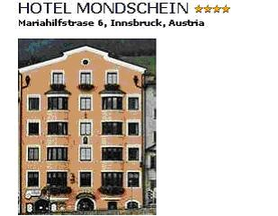 HOTEL MONDSCHEIN**** - The hotel Mondschein is protected among some of the oldest heritage listed buildings. Just 3 walking minutes away from the center of the historic Old Town with its famous sights and shopping areas, but also close to enchanting nature. The Congress center and fair grounds are situated in easy walking distance. A private parking garage is also - free of charge- available. The hotel offers modern comfort whilst cherishing the old tradition family values of the past. Its family staff guarantees you a pleasant time. Double room with bath/shower/WC breakfast